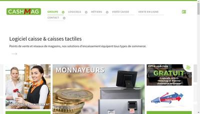 Site internet de Cashmag