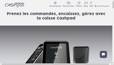 Site internet de Cashpad