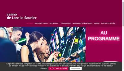 Site internet de Casino