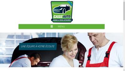 Site internet de Cass'Auto