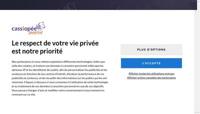 Site internet de Arnaud Demantin Consult