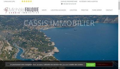 Site internet de Agence Michele Falque
