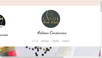 Site internet de Castel Foie Gras