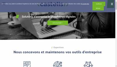 Site internet de Castelis