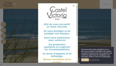 Site internet de Victoria Hotel