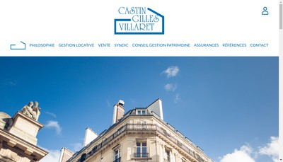 Site internet de Castin Gilles Villaret
