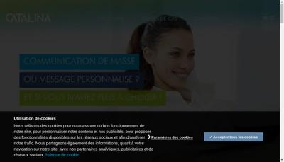 Site internet de Catalina Marketing France SAS