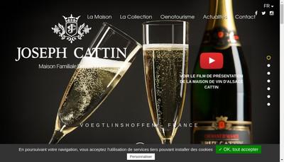 Site internet de Jw El Ho Vins d'Alsace J Cattin