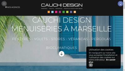 Site internet de 'Cauchi Design'