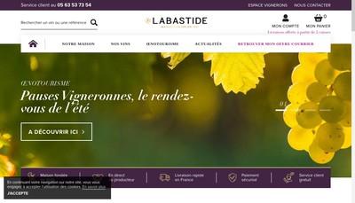 Site internet de Labastide
