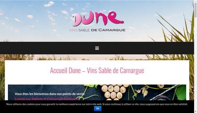 Site internet de Caveau les Sablons Maison Terroir Sables