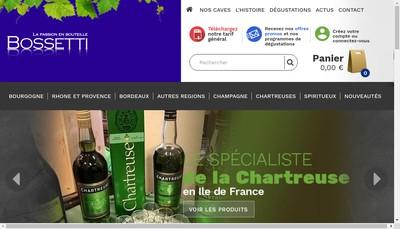 Site internet de SARL Marcel Bossetti