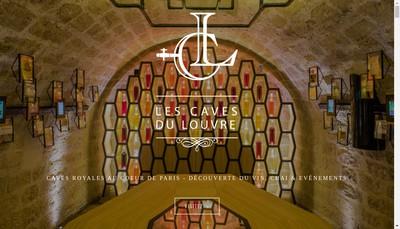 Site internet de Les Caves du Louvre