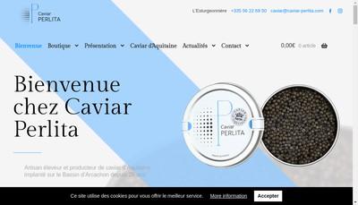 Site internet de L'Esturgeonniere