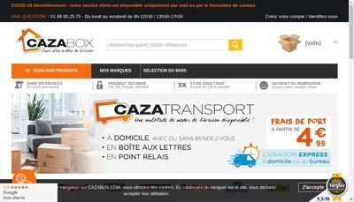 Site internet de Cazabox