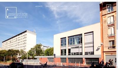 Site internet de Cazenove Architectes