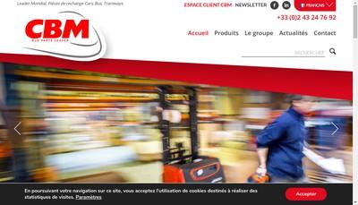 Site internet de Car et Bus Maintenance