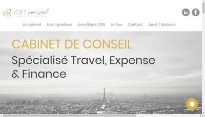 Site internet de Cbt Conseil