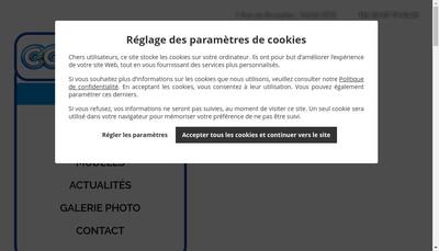 Site internet de CC Motors