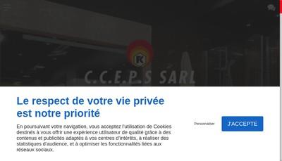 Site internet de Cceps