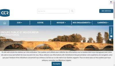 Site internet de CCR