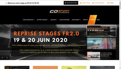 Site internet de CD Sport