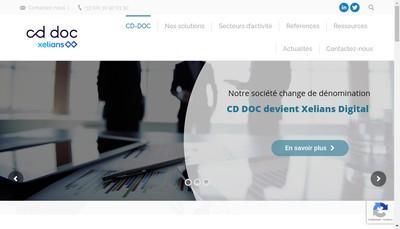 Site internet de Cd Doc Services-Scaneco-Complitys