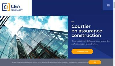 Site internet de SAS Groupe Cea