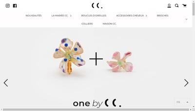 Site internet de Cecile Boccara