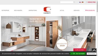 Site internet de Cedam