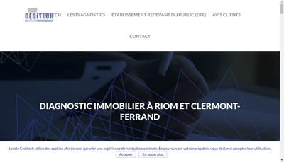 Site internet de Ceditech