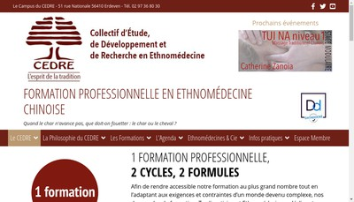 Site internet de SARL Cedre