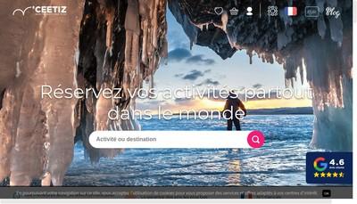 Site internet de Ceetiz