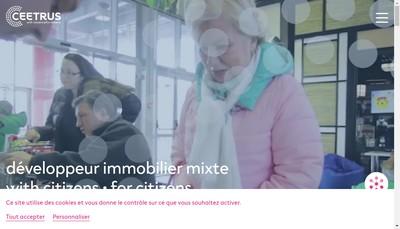 Site internet de Ceetrus France