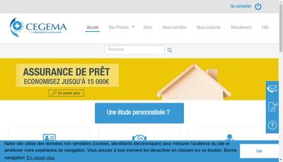 Site internet de Cegema