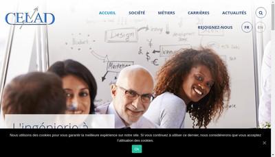 Site internet de Celad