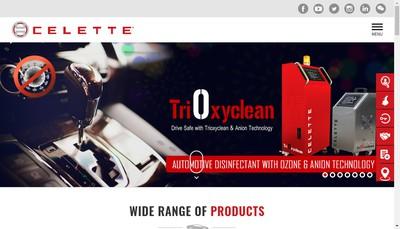 Site internet de Celette