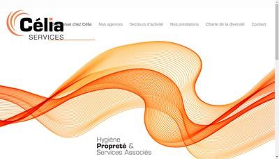 Site internet de Celia Services
