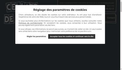 Site internet de SARL Cellier de Jules