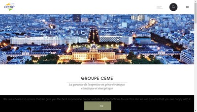 Site internet de CEME