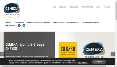 Site internet de Cemexa
