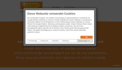 Site internet de Cemo France