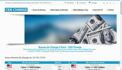 Site internet de Change Est Nord