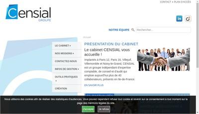 Site internet de Censial