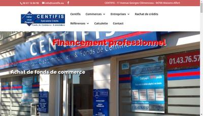 Site internet de Centifis
