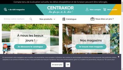 Site internet de Centrakor