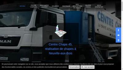 Site internet de Centre Chape 45