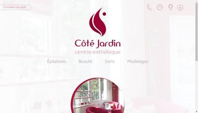 Site internet de Centre Esthetique - Cote Jardin
