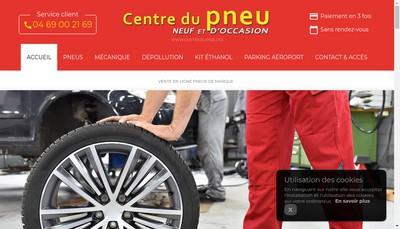 Site internet de Centre du Pneu d'Occasion