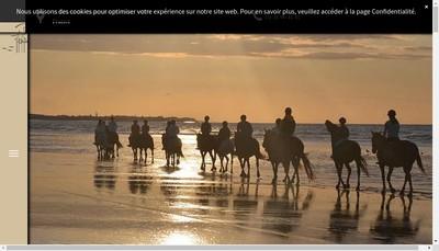 Site internet de EARL Centre Equestre de Ouistreham David Aissa
